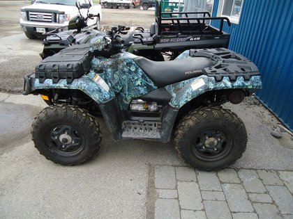 2009 Polaris Sportsman 550 Eps