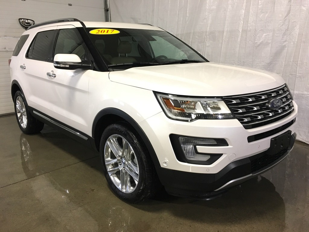 2017 Ford Explorer Limited Awd Loaded Nav Leather P Moonroof