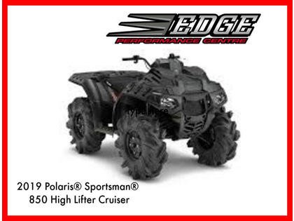 2019 Polaris Sportsman 850 High Lifter Cruiser