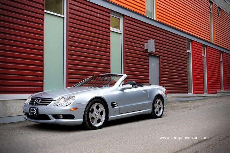 2004 Mercedes-Benz SL-Class full