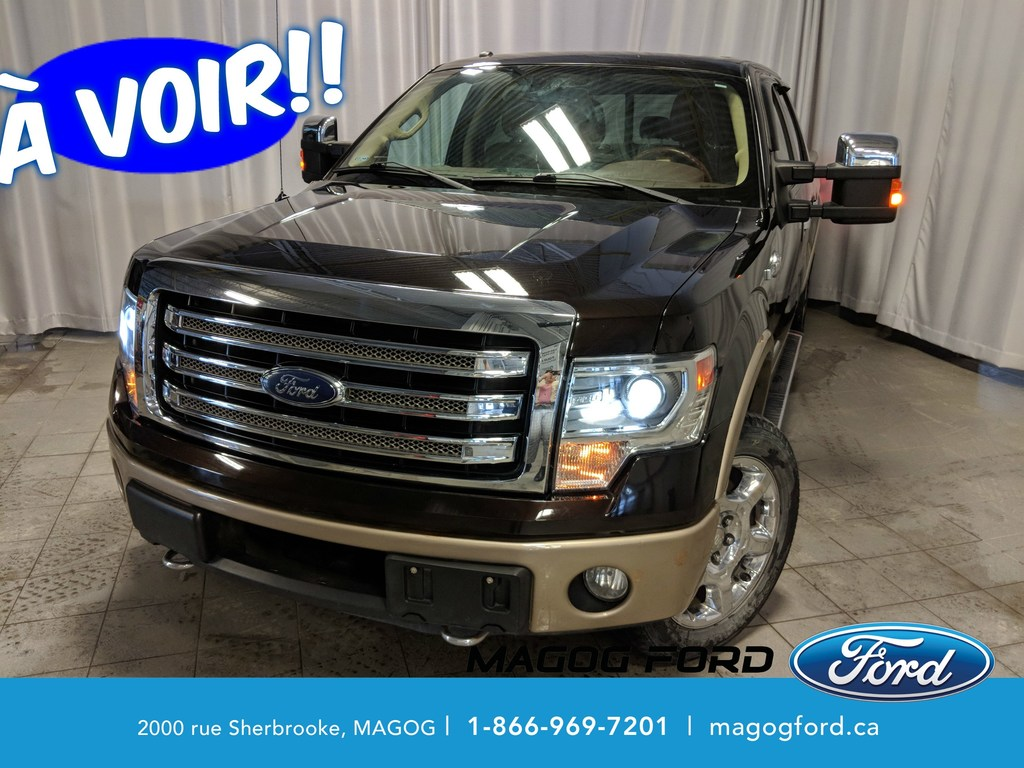 2013 Ford F-150 King Ranch 4X4 CUIR MAGS SIEGE ELECTRIQUE