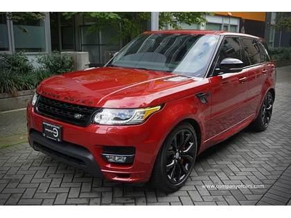 2016 Land Rover Range Rover Sport full
