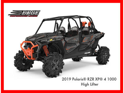 2019 Polaris Rzr Xp 4 1000 High Lifter