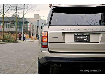 2013 Land Rover Range Rover full