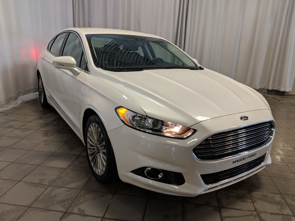 2015 Ford Fusion Titanium EN EXCELLENT ETAT CAMERA CUIR