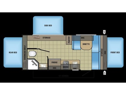 2018 Jayco Jay Feather 7 17XFD -