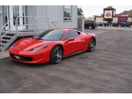 pre-owned 458 Italia