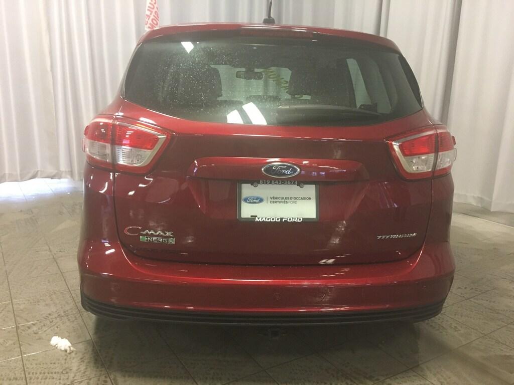 2017 Ford C-Max Energi Titanium BAS MILLAGE CUIR GPS CAMERA ECONOMIQUE