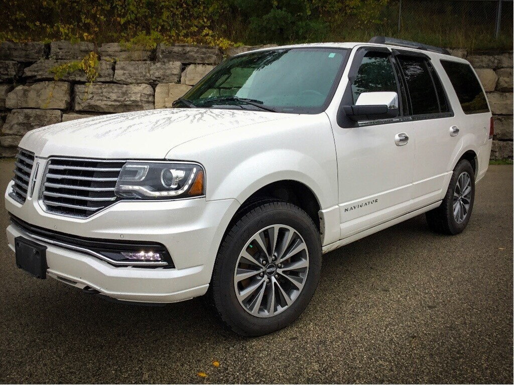 2015 Lincoln Navigator Reserve   Leather, Moonroof