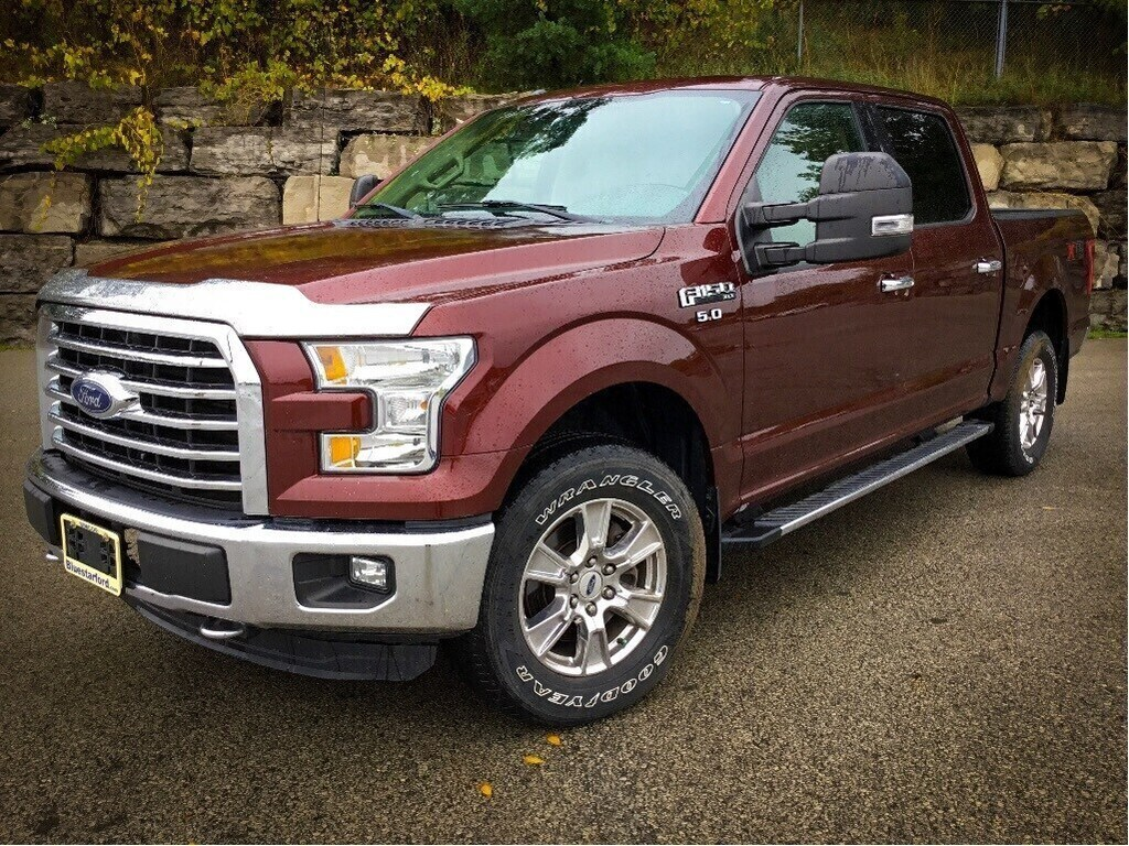 2015 Ford F-150 XLT   5.0L, Trailer Tow Mirrors