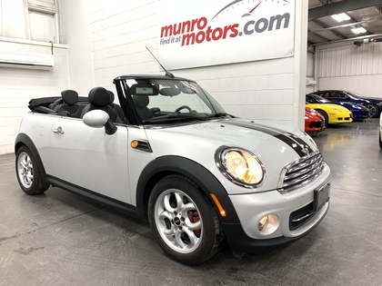 2013 MINI Convertible cooper convertible automatic leatherette bluetooth