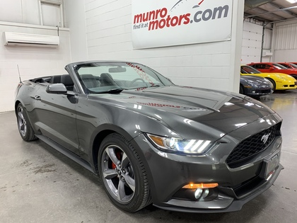 2017 Ford Mustang 2dr Conv V6 alloy wheels, bluetooth, my key system
