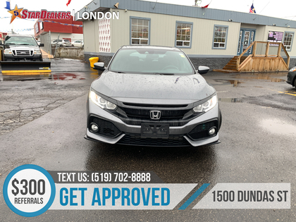 pre-owned Civic Hatchback