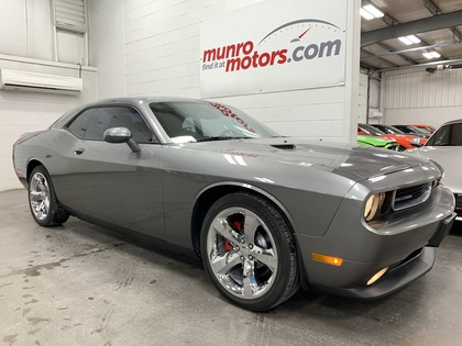 2012 Dodge Challenger 2dr Cpe SXT Plus Auto MoonRoof NAV Chrome Wheels