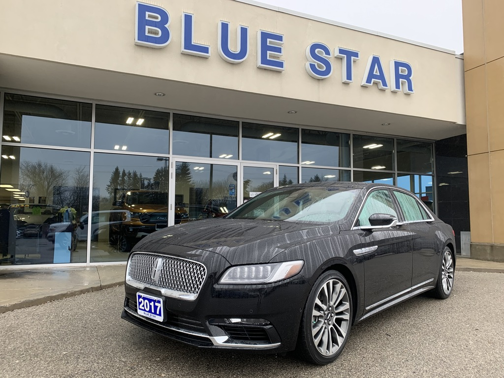 2017 Lincoln Continental RESERVE 3.0L   TECH PACKAGE   REAR SEAT PACKAGE