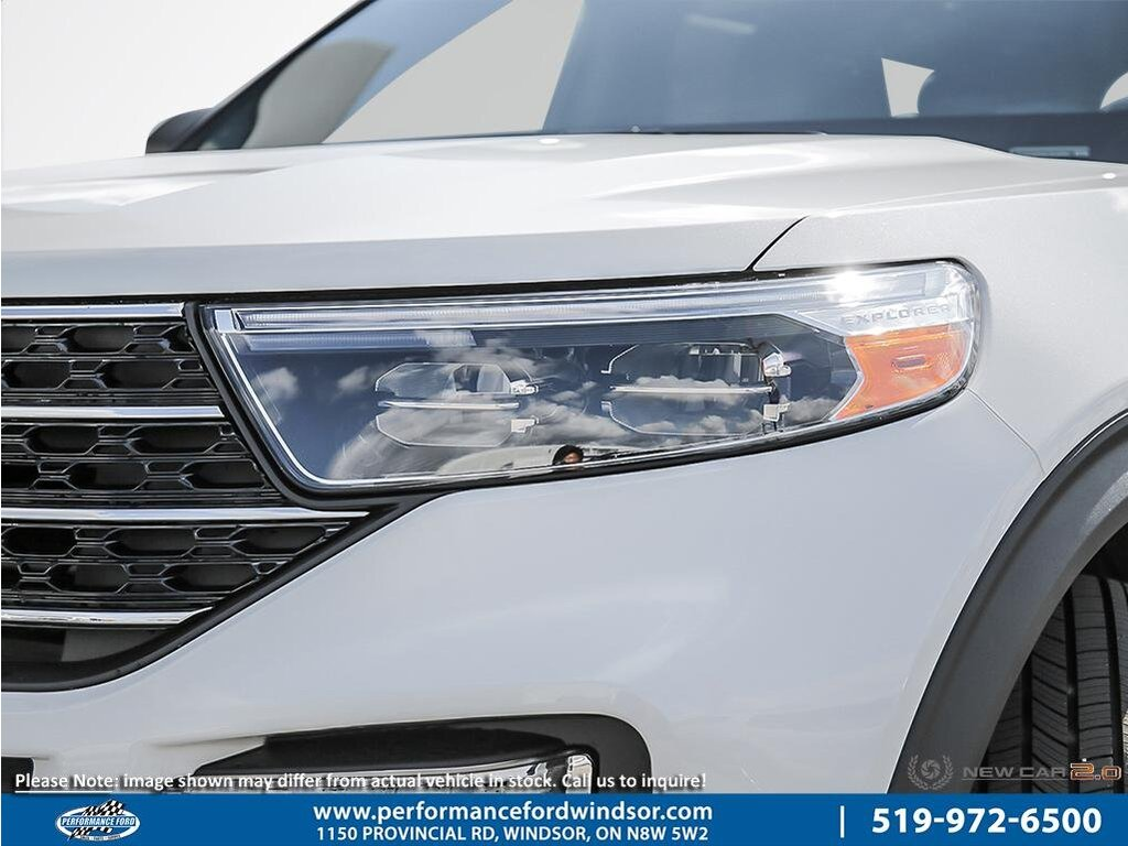 2020 Ford Explorer 4wd, Leather, Moonroof, Navigation