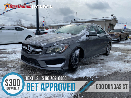 used Mercedes-Benz CLA-Class