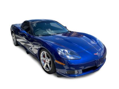 2006 Chevrolet Corvette 2dr Cpe 6spd 3LT NAV HUD Red Calipers Glass Roof