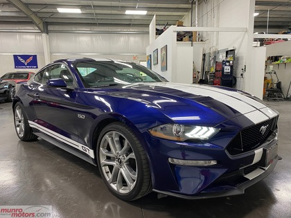 2019 Ford Mustang GT Premium Fastback NAV htd/cld seats stripes