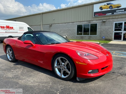 2007 Chevrolet Corvette Convertible HUD 6spd MEM PKG Chrome whls