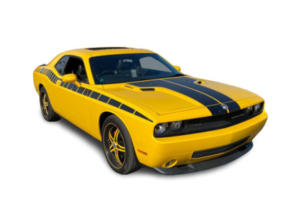 2010 Dodge Challenger 2dr Cpe SRT8 No Accidents Low Km's Stripes