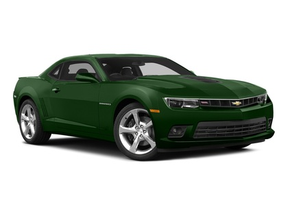 """2015 Chevrolet Camaro 2dr Cpe SS w-2SS GreenFlash 21"""" wheels Skirts"""