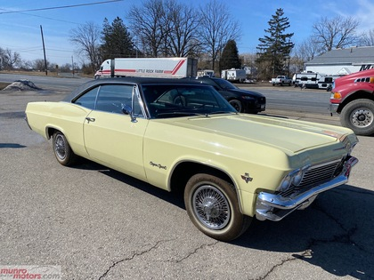 1965 Chevrolet Impala 409 V8 Muncie 4 speed Bucket Seats Local Clean Car