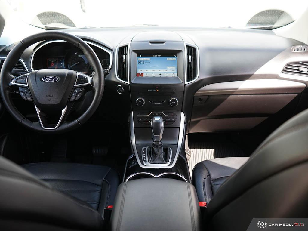 2018 Ford Edge 3.5L V6 Leather Navigation Moonroof Heated Seats/S