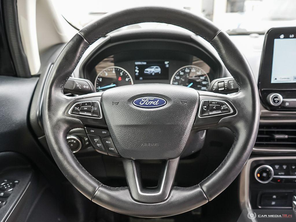 2018 Ford EcoSport Heated Seats Navigation Apple CarPlay/Android Auto