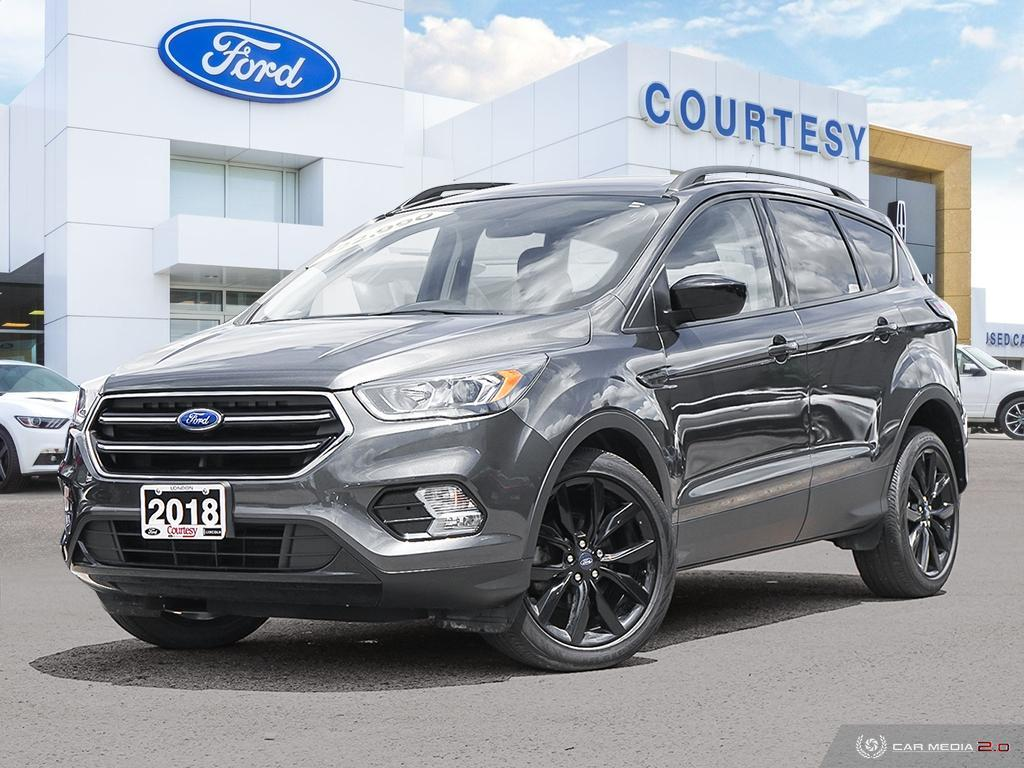 2018 Ford Escape Sport Appearance Package Dual Climate