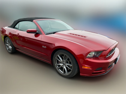 """2014 Ford Mustang 2dr Conv GT Brembo's 19"""" wheels Saddle interior"""
