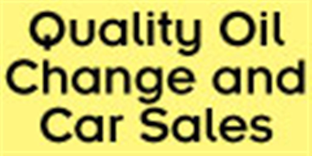 Quality Oil Change and Car Sales