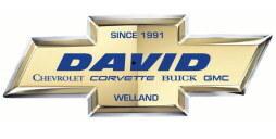DAVID CHEVROLET CORVETTE BUICK GMC