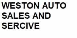 WESTON AUTO SALES AND SERVICE
