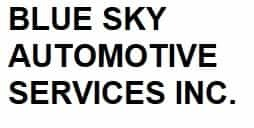 BLUE SKY AUTOMOTIVE SERVICES INC.