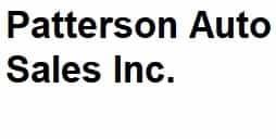 PATTERSON AUTO SALES INC.
