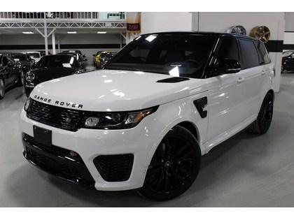 2017 Land Rover Range Rover Sport Svr Warranty Till May 2021