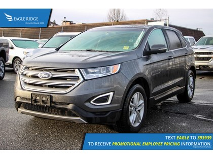 Sport Utility  Ford Edge Sel Heated Seats Backup Camera In Coquitlam