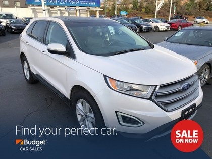 Sport Utility  Ford Edge Sel Edition Intelligent All Wheel Drive Leather