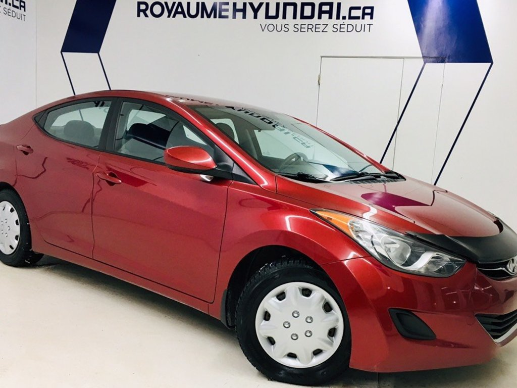 2013 Hyundai  Elantra GL / GARANTIE JUSQU'EN 2020 / AUTOMATIQUE