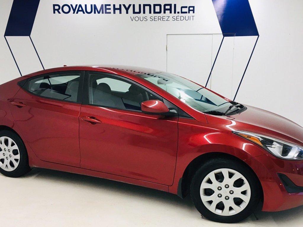 2014 Hyundai  Elantra GL / AUTOMATIQUE / SIÈGES CHAUFFANTS