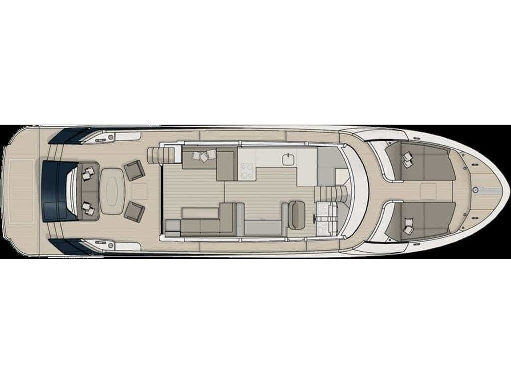 2014 Monte Carlo Yachts boat for sale, model of the boat is *65 Mcy65 & Image # 13 of 29