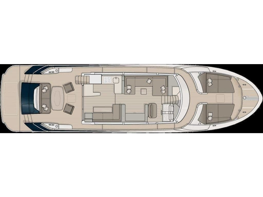 2014 Monte Carlo Yachts boat for sale, model of the boat is *65 Mcy65 & Image # 12 of 28