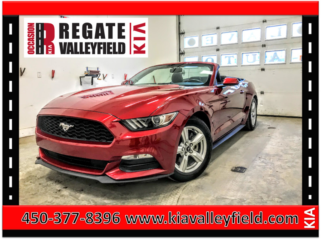2016 Ford  Mustang V6 Convertible*Bluetooth*Climatiseur***mag***