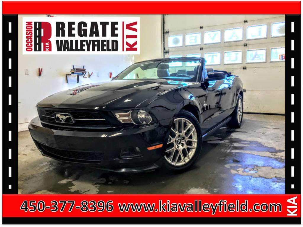2012 Ford  Mustang V6 Premium*Intérieur en cuir*Sièges chauffants*