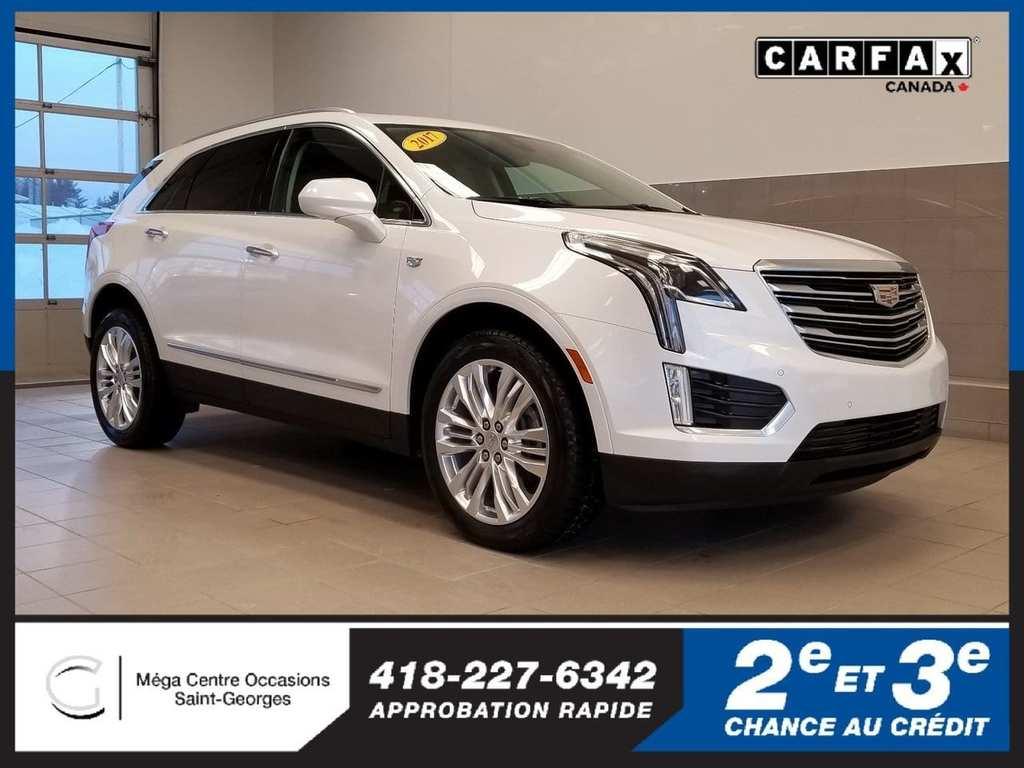 2017 Cadillac  XT5 Premium Luxury / AWD /
