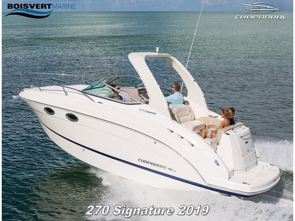 2019 Chaparral boat for sale, model of the boat is 270 Signature & Image # 11 of 24