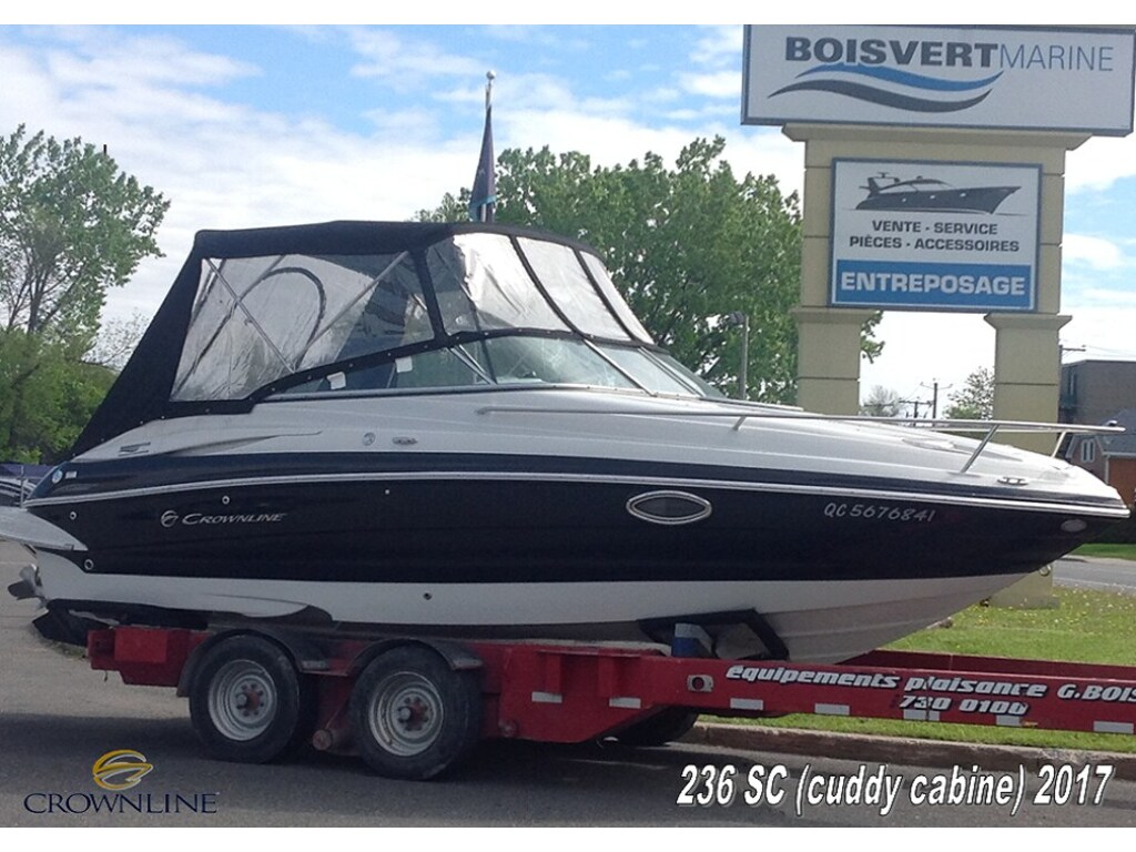 2017 Crownline boat for sale, model of the boat is 236sc & Image # 1 of 17