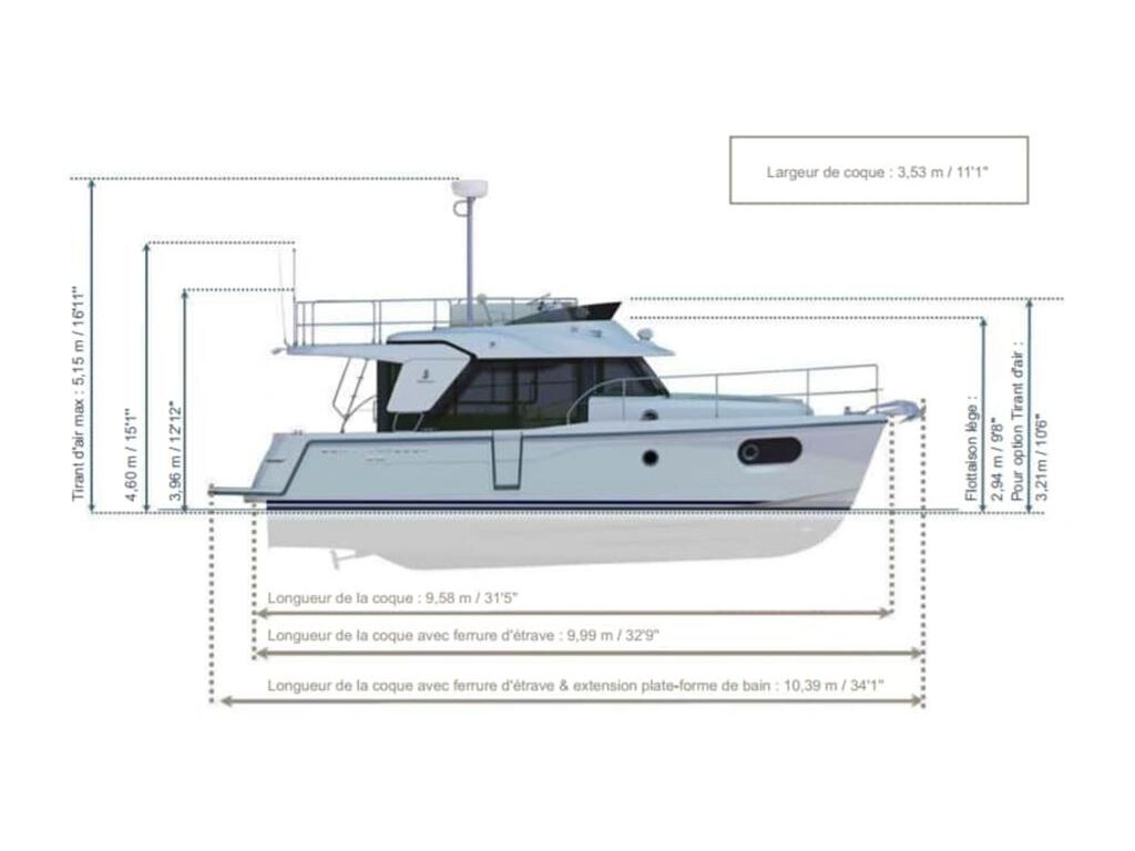 2019 Beneteau boat for sale, model of the boat is Swift Trawler 30 & Image # 2 of 28