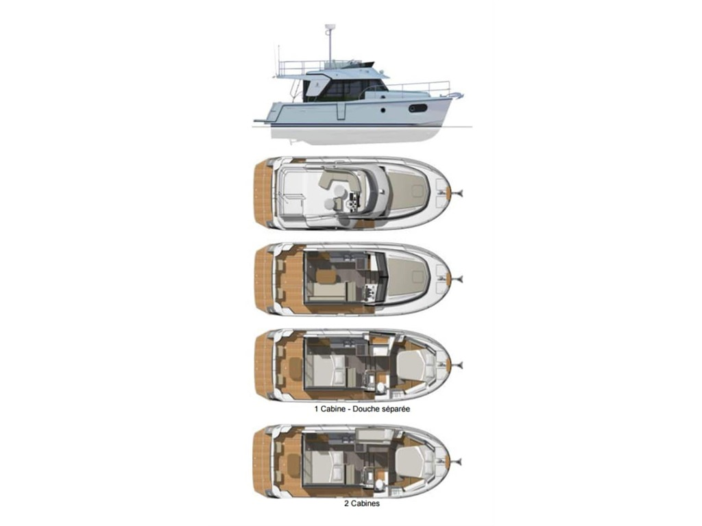 2019 Beneteau boat for sale, model of the boat is Swift Trawler 30 & Image # 3 of 32
